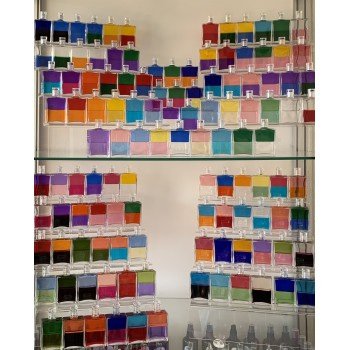 Complete set met alle 119 equilibrium 50ml flessen - B000-B118