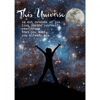 Briefkaart This universe