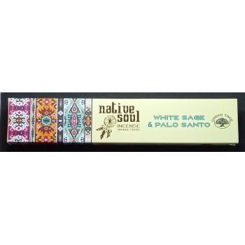Wierook - Witte salie & palo santo